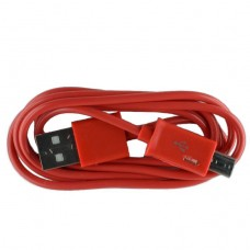 Micro USB oplaad kabel rood | 1 METER kabeltje