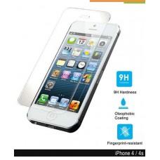 Iphone 4/4s Screenprotector van Gehard glas
